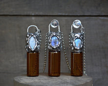 Moonstone Rollerball Necklace