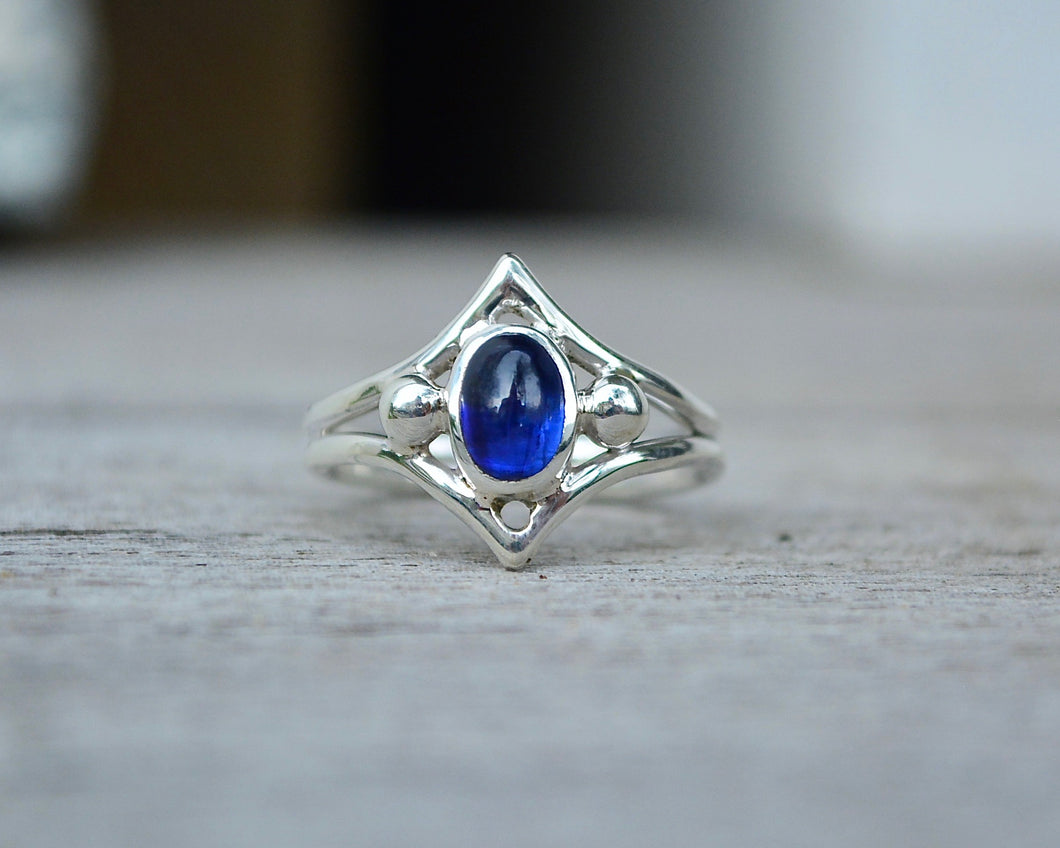 Kyanite Ascension Ring // Size 7
