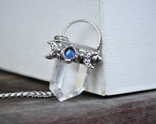Labradorite Moon Quartz Necklace