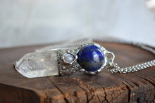 Lapis & Moonstone Crystal Wand