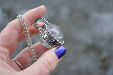 Clear Quartz Sphere Necklace