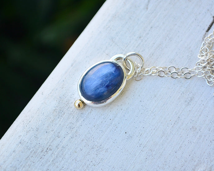 Kyanite Drop Necklace