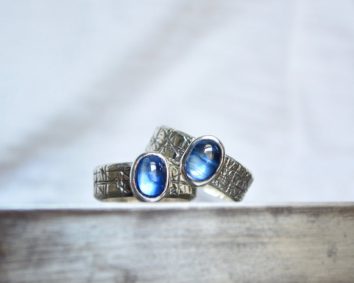 Kyanite Band Rings