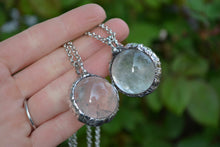 Quartz Sphere Necklace
