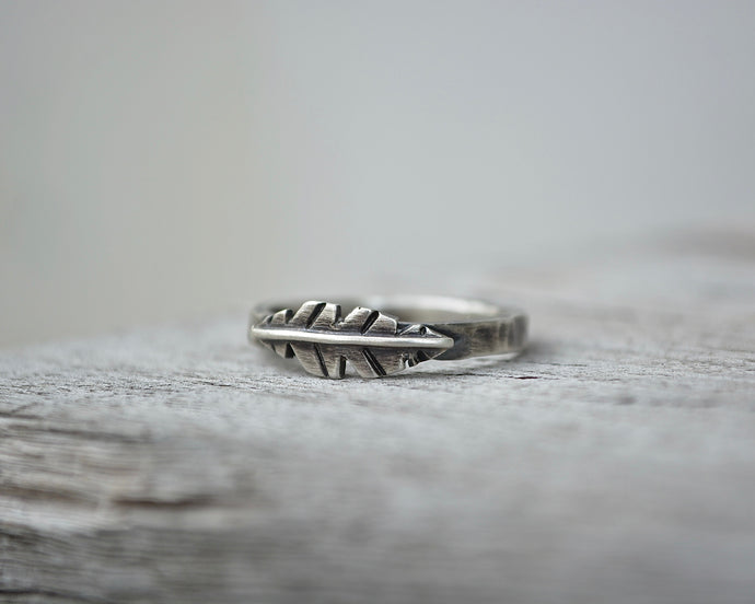 Mini Feather Ring