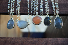 Rose Cut Moonstone Necklaces