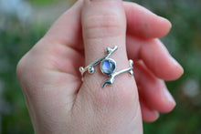 Moonstone Sprig Ring