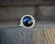 Black Onyx Ring // Round // Made to Order