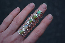 Four Points Opal Ring // Size 7