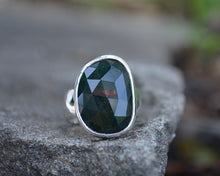 Bloodstone Ring // Size 7