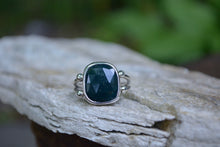 Bloodstone Double Band Ring // Size 8