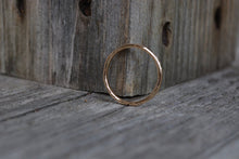 14K Yellow Gold Stacking Ring