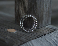 Beaded Band Stacking  Rings