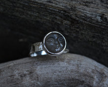 Grey Man in the Moonstone Ring