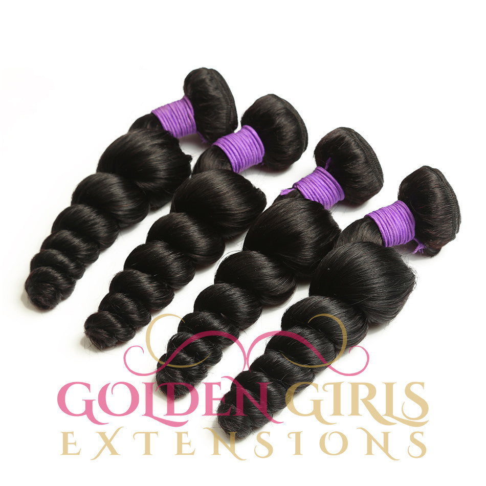 Mahogany Gold |  Loose Wave| Brazilian  Bundles