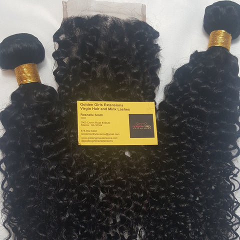 Brazilian | Golden Deep Wave | Bundles
