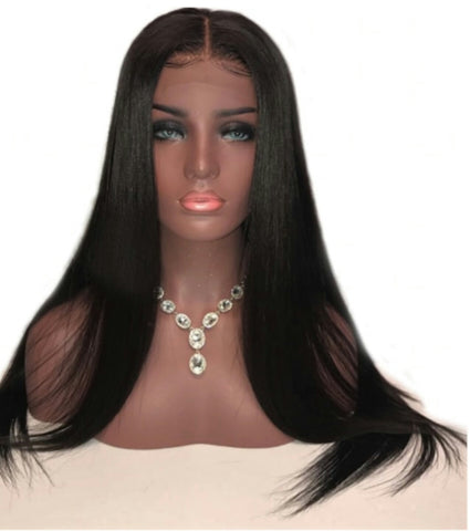 *Shell* 200% Density Brazilian Lace Front Wig 22 Inches