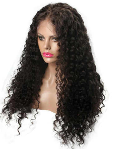*Jada* 200% Density 20 Inch Water Deep Lace Front Wig
