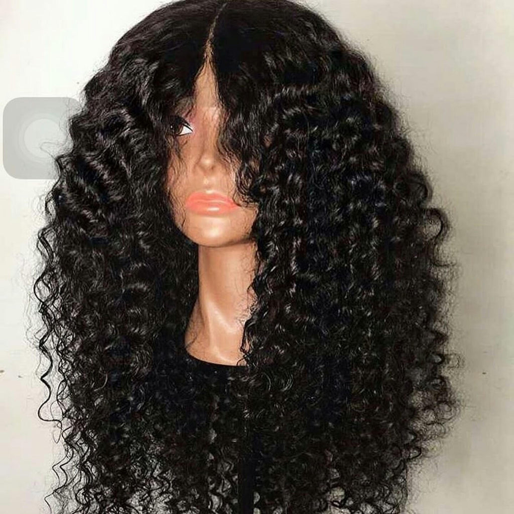Mahogany Deep Wave | Lace Front Unit | 24 inch