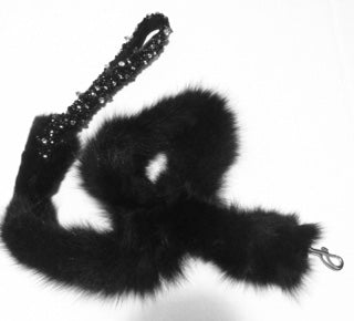 Custom Mink Dog Leash (Limited Edition) Featured in VIBE Magazine
