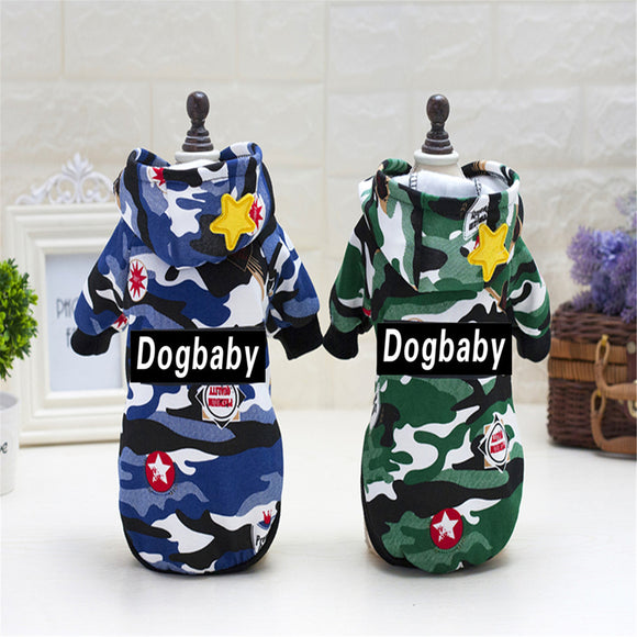 Dolce Dogbaby Hoody Fatigue Jacket