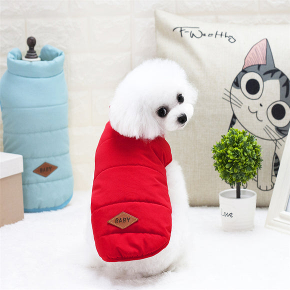 Fashionable Cozy Doggie Vests