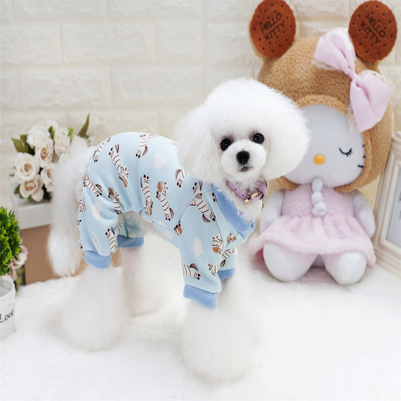 Blueberry Puppy Pajamas