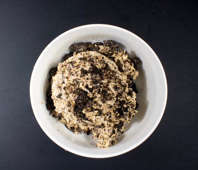 Cookies and Cream Overnight Oats - X-Factor Meals