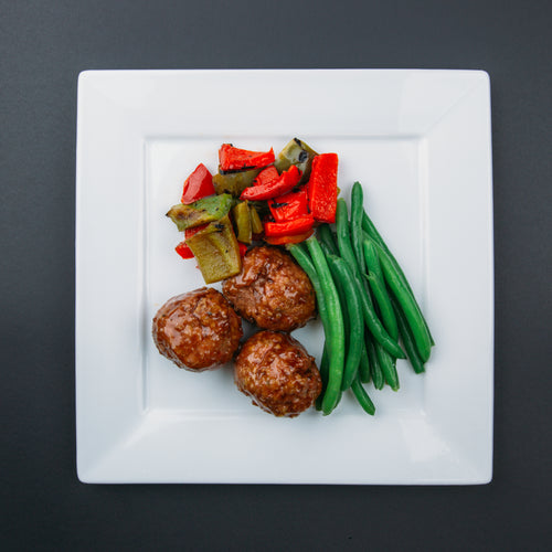 Low Carb Korean Style Meatballs - X-Factor Meals
