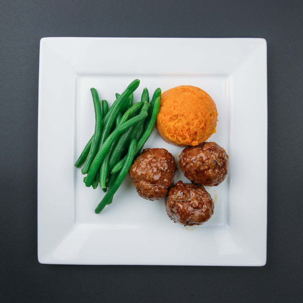 Korean Style Meatballs - X-Factor Meals