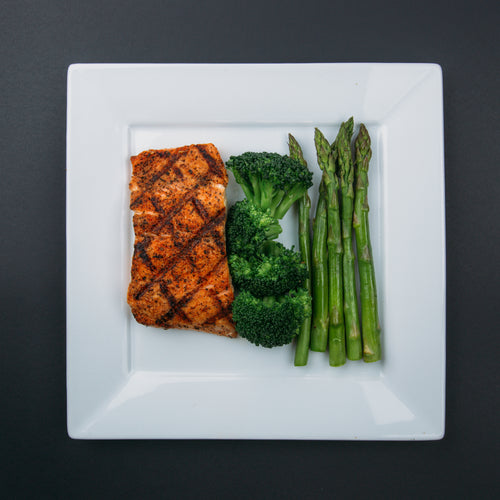 Low Carb Salmon - X-Factor Meals