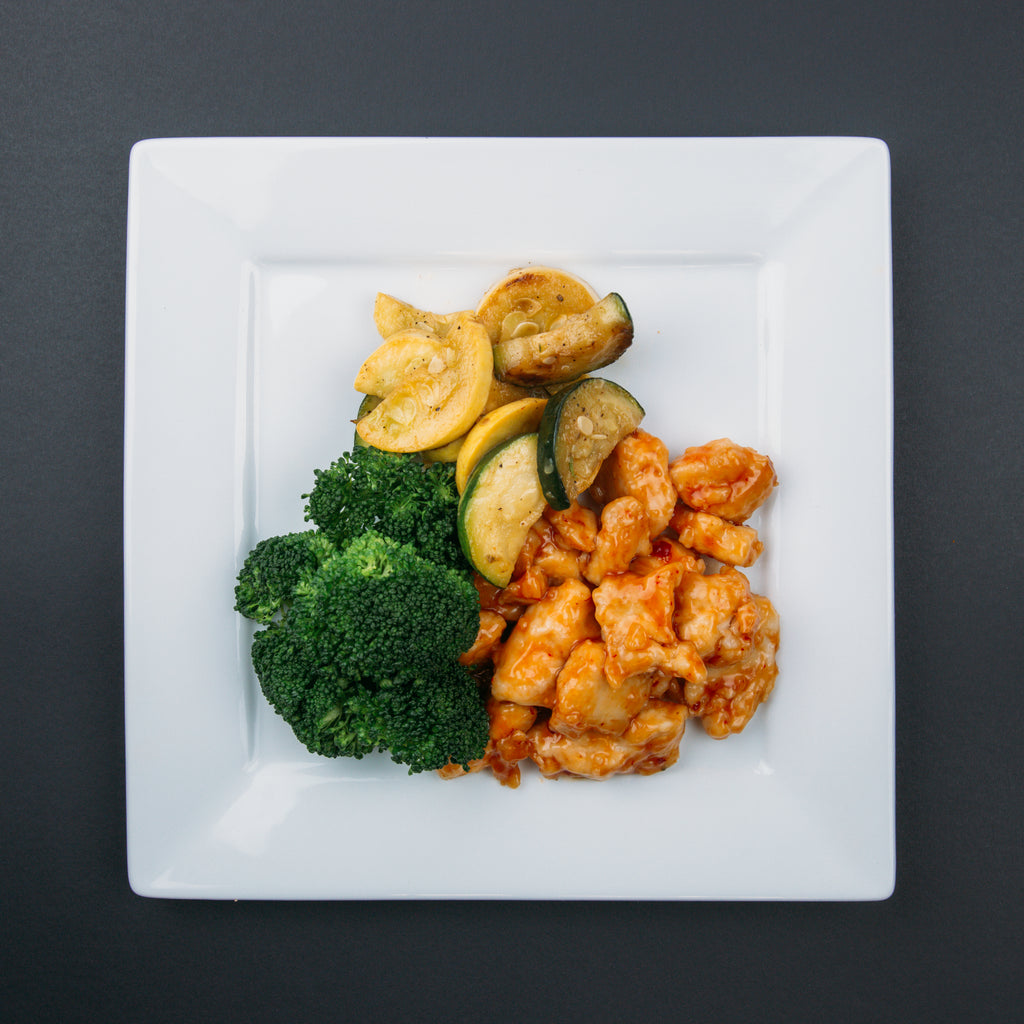 low carb general tsos chicken  xfactor meals