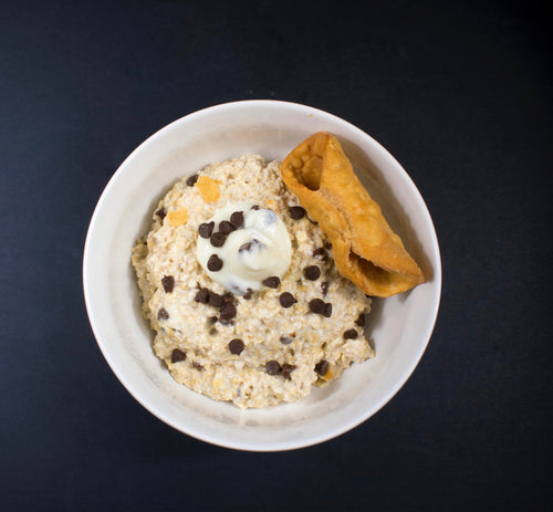 Cannoli Cream Overnight Oats - X-Factor Meals