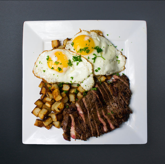 Steak and Eggs - X-Factor Meals