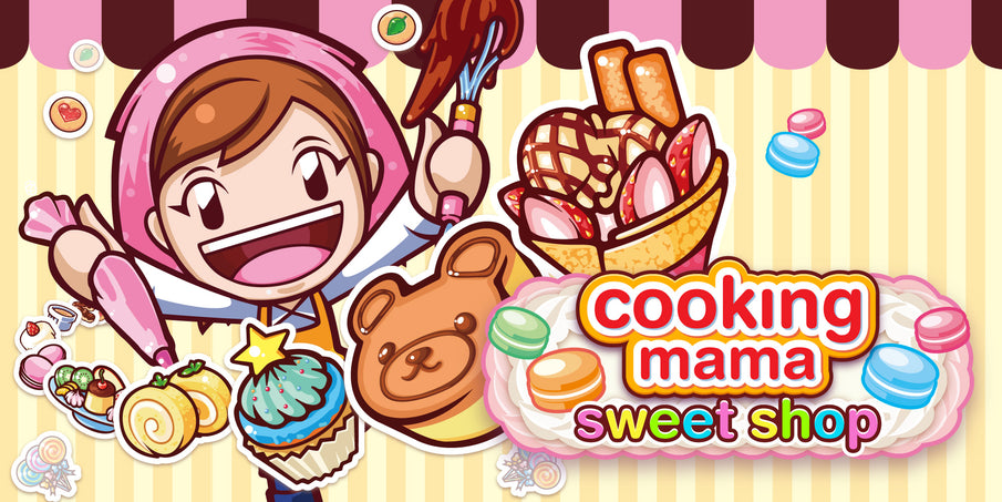 Cooking Mama: Sweet Shop Confirmed For Box Retail on May 16, Digital Release to Follow May 18 in North America