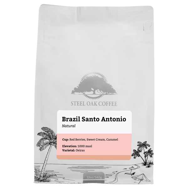 Brazil - Santo Antonio - Steel Oak Coffee