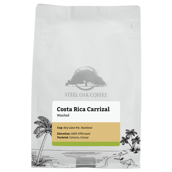 Costa Rica - Carrizal - Steel Oak Coffee