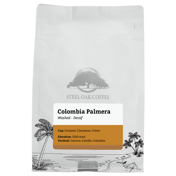 Colombia - Palmera (Decaf) - Steel Oak Coffee