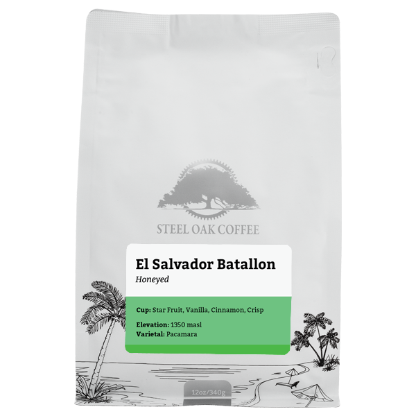 El Salvador - Batallon - Steel Oak Coffee