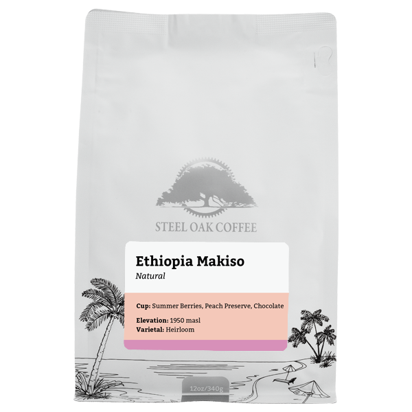 Ethiopia - Makiso - Steel Oak Coffee