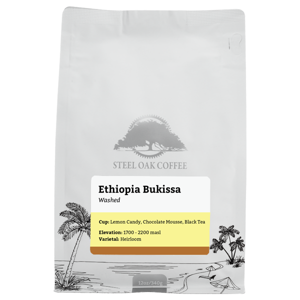Ethiopia - Bukissa - Steel Oak Coffee