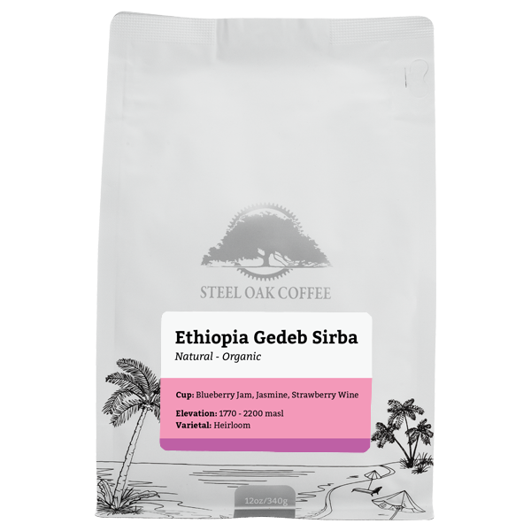 Ethiopia - Gedeb Sirba - Steel Oak Coffee