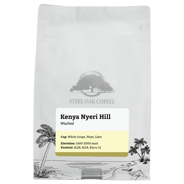 Kenya - Nyeri Hill Estate - Steel Oak Coffee