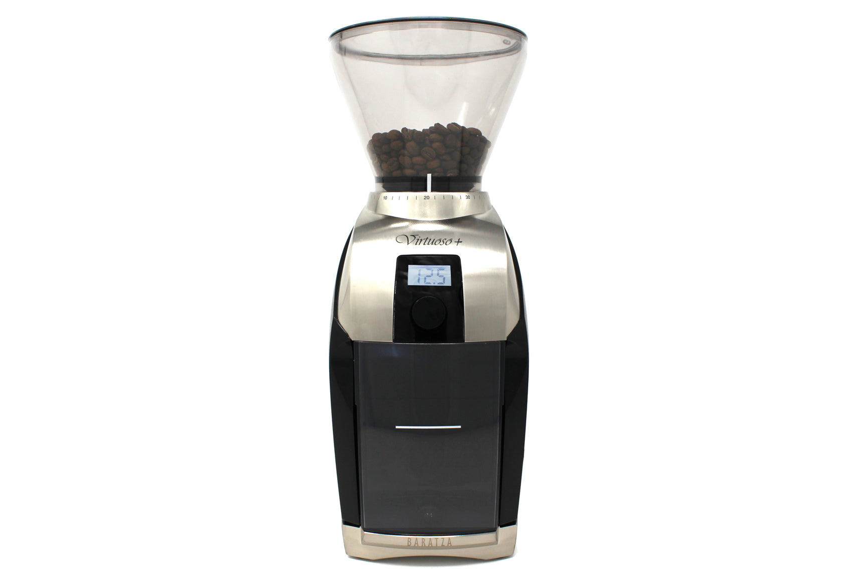 Baratza Virtuoso+ Coffee Grinder - Steel Oak Coffee
