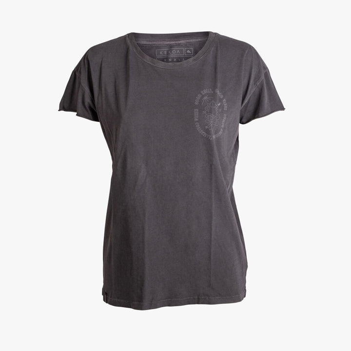WOMEN'S GOOD ROLLS SURF TEE