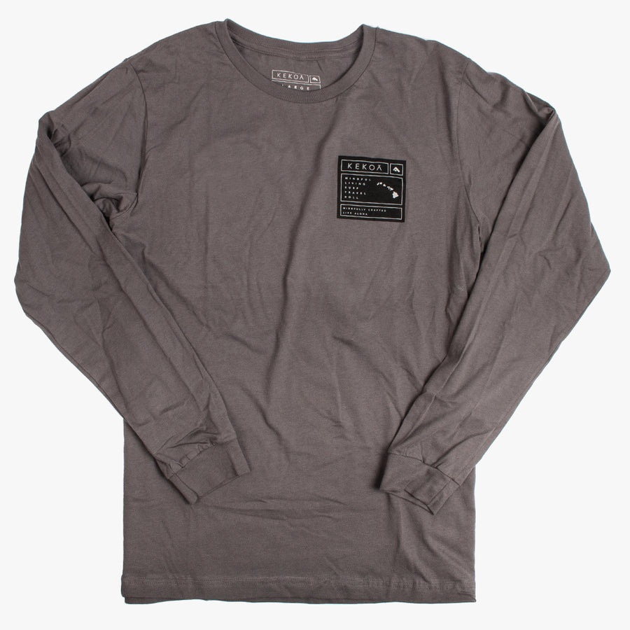 CRAFTED LONG SLEEVE