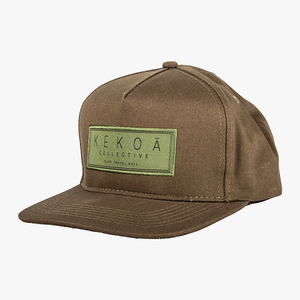 KEKOA SURF TRAVEL ROLL HAT