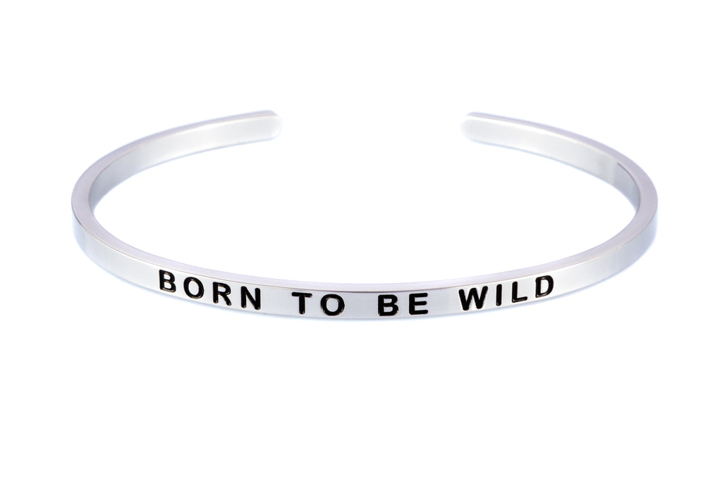 """BORN TO BE WILD"" Palladio col. bracelet"