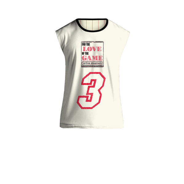 For The Love of the Game Reversible Jersey Red on White