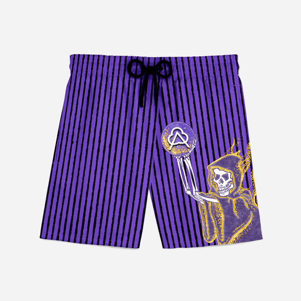 Sporty Short Purple Reaper Home